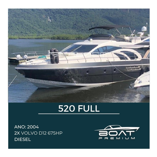 520 Full, 2004, 2x Volvo D12 675hp - Sessa - Phantom