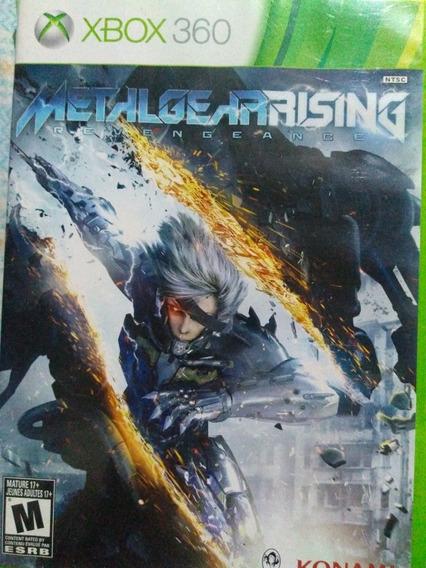 Metalgearising Xbox 360 Original , Leia A Descriçao