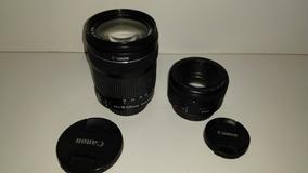 Kit Lentes Canon 18-135 E Canon 50mm