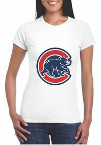 Playera Mlb Cachorros De Chicago Cubs Caballero Dama M2