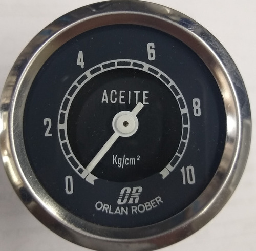 Reloj Presión Aceite Orlan Rober  Original Pesados Mecánico