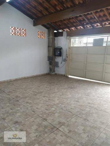 Casa Com 3 Dormitórios À Venda, 160 M² Por R$ 340.000,00 - Jardim Valparaíba - São José Dos Campos/sp - Ca0217