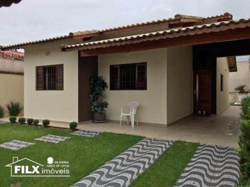 Casa De Excelência Com Piscina Em Itanhaém - 6477   Npc