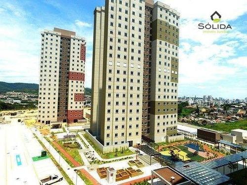 Imagem 1 de 9 de Excelente Apartamento A Venda - Condomínio Club Altos Da Samuel Martins - Jundiaí - Sp - Ap1193
