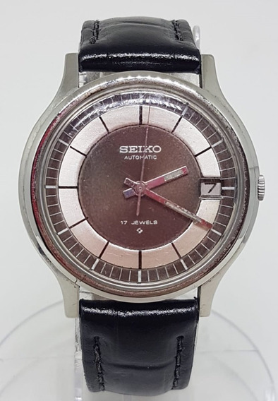 Relogio De Pulso Seiko Automatic 7005 7110 Japan 17 Jwells