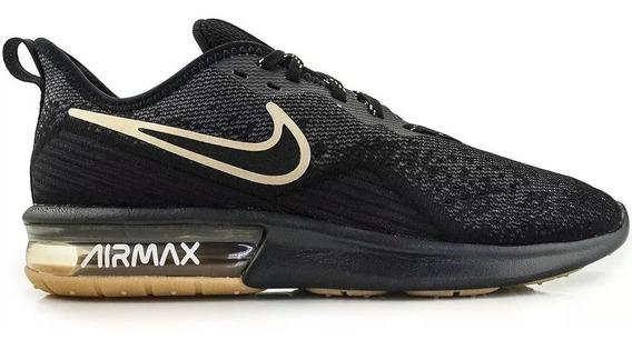 Promoção Tênis Nike Air Max Sequent 4 Preto 100% Original!