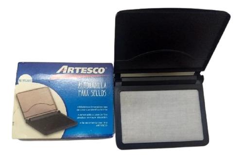 Almohadilla Plastica Artesco P/sellos De Goma S/tinta 8x12cm