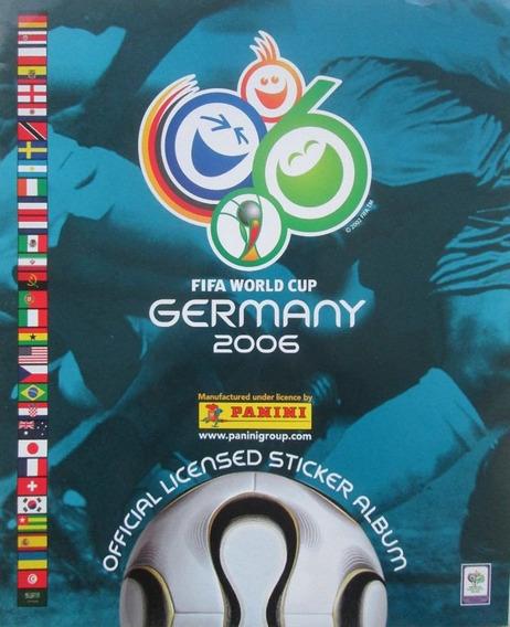 Estampas Panini Mundial Alemania 2006 Album Dist0