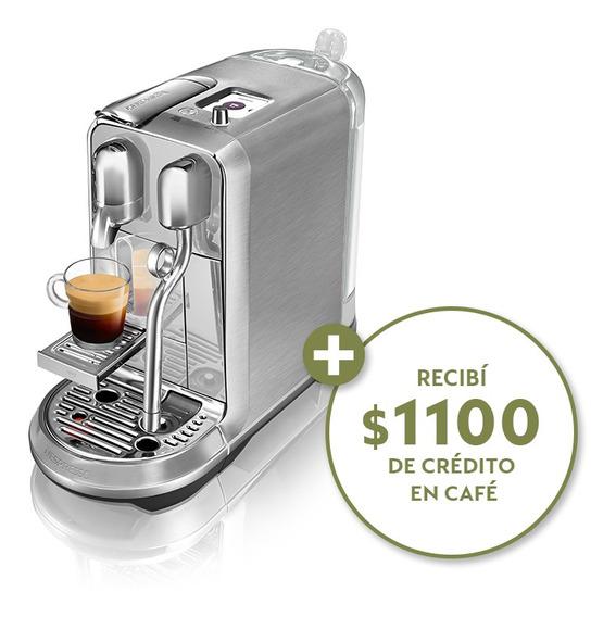 Cafetera Nespresso Creatista Plus + Cápsulas