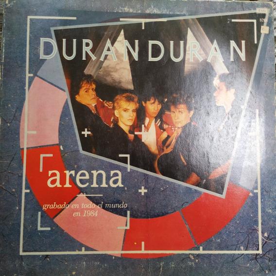 Duran Duran Arena Lp + Insert Excelente Duncant