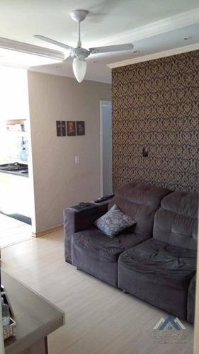 Apartamento Com 2 Dormitórios À Venda, 52 M² Por R$ 110.000,00 - Nova Olinda - Londrina/pr - Ap0715