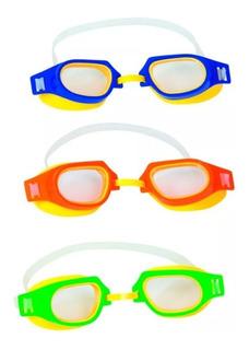 Antiparras De Natacion Para Niños Bestway Hydro Swim 21003