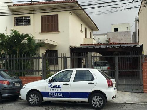 Sobrado  Residencial Para Locação, Mooca, São Paulo. - So0719