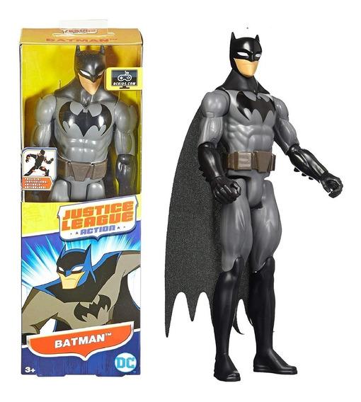Muñeco Batman Clasico Articulado 30cm Mattel Original