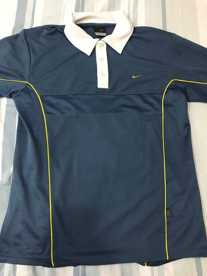 Camisa Polo Nike - Azul - Tamanho M