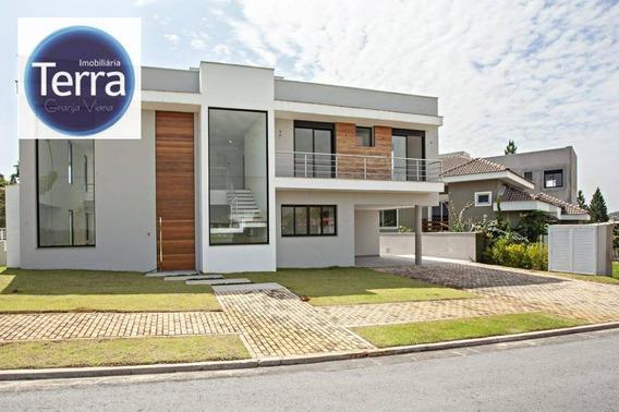 Casa Com 4 Dormitórios À Venda, 513 M² Por R$ 2.900.000 - Alphaville Granja Viana - Ca1871