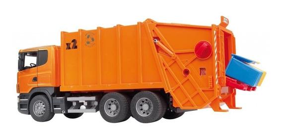 Juguetes Bruder Scania R-series Garbage Truck