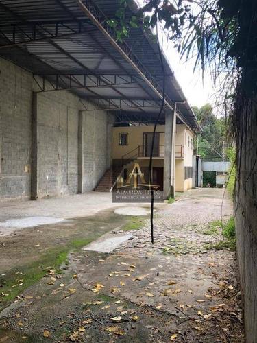 Excelente Galpão Disponível Para Locação No Bairro Aldeia De Barueri - Confira!!! - Ga0569