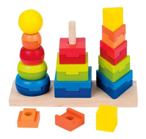 Torre De Apilar Triple Mediana