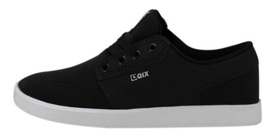 Tênis Skate Qix Next Preto/branco Original