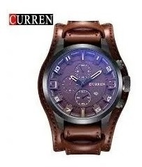 Relógio Masculino Curren Militar - Pronta Entrega