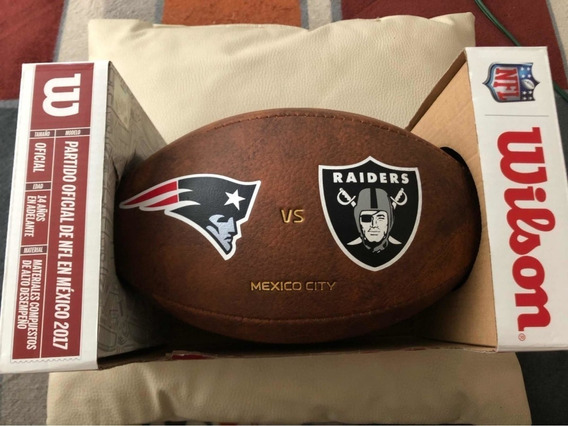 Balón Nfl México De Partido Raiders Vs Nueva Inglaterra 2017
