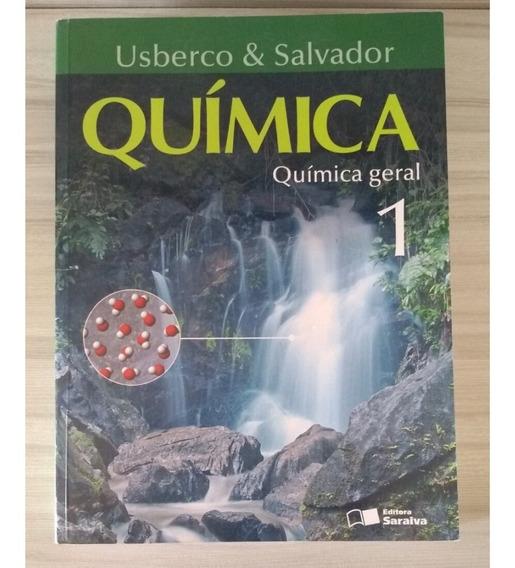 Livro Química Usberco Salvador - Vol 1 Ed Saraiva