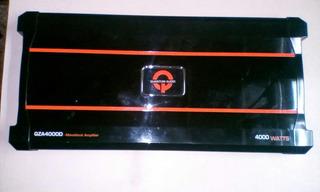 Amplificador Quantum Audio Qza4000d Monoblock 4000w Clase D