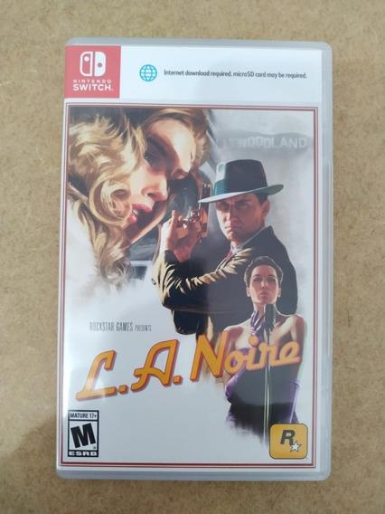 L.a. Noire Nintendo Switch Mídia Física