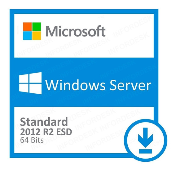 Windows Server 2012 R2 Standard + 50 Cals Rds User + Nf