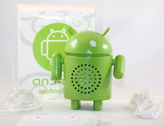 Cornetica Para Equipos Móviles Con La Figura De Android