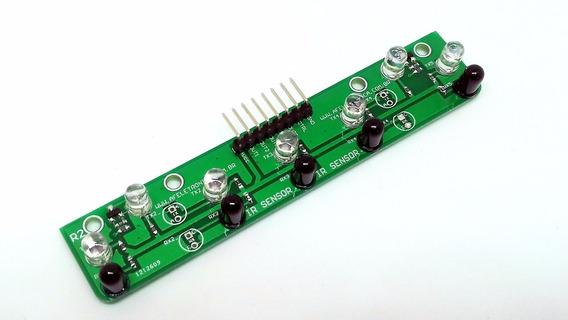 Sensor Para Robo Seguidor De Linha Com Tcrt 5000