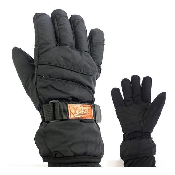 Luva De Inverno 100% Impermeável Para Motociclista Moto