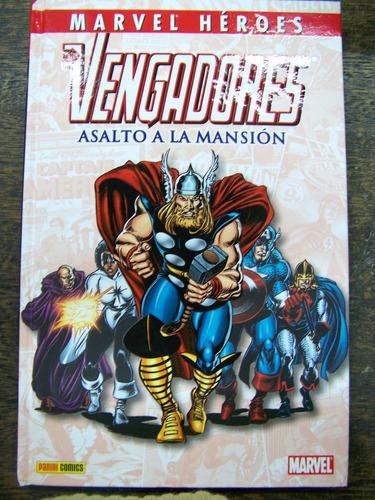 Imagen 1 de 4 de Los Vengadores * Asalto A La Mansion * John Buscema * Panini