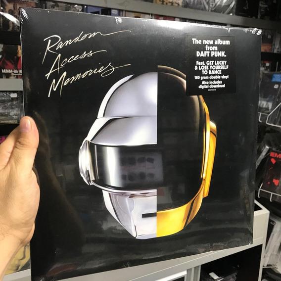Lp Daft Punk Random Access Memories Vinyl Duplo 180g Import