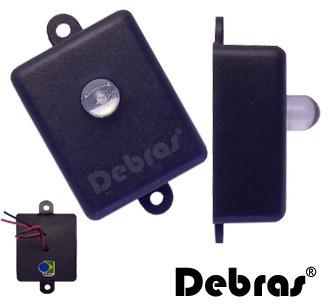 10 Pisca Led 10mm Azul P/ Alarmes Residenciais 12v - Debras