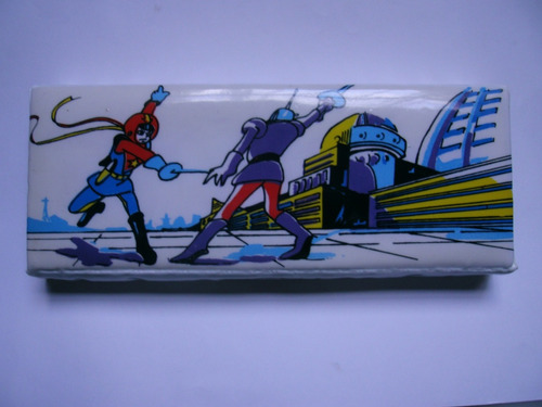 Imagen 1 de 3 de Cartuchera Antigua Lapices, Comic, Animé, Manga,retro.