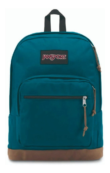 Mochila Jansport Right Pack Azul Marine Teal 31l Notebook
