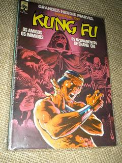 Grandes Herois Marvel 06 Mestre Do Kung Fu - Editora Abril