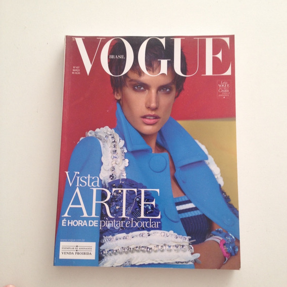 Revista Vogue Brasil 427 Mar2014 Vista Arte Pintar Bordar C2