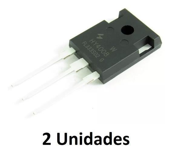 2 Peças Transistor Hy4008 To-247 Original 200a 80v