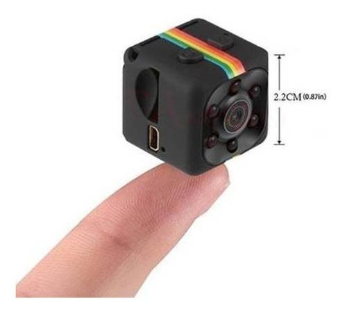 Mini Câmera Escondida Sq11 1080p Câmera Espiã Visão Noturna