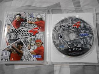 Virtua Tennis 4 Ps3 Tambien Vendo Juegos Mandos Ps1 Ps2 Ps3