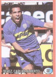 Futbol 2004 Boca Tevez Figurita N° 37