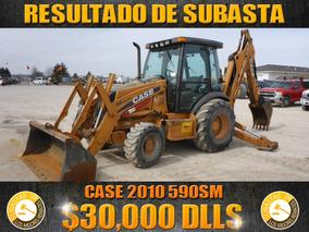 Retroexcavadora Case 2010 590sm,resultados De Subasta