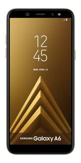 Celular Libre Samsung Galaxy A6 Ram 3gb 32gb Negro Y Dorado