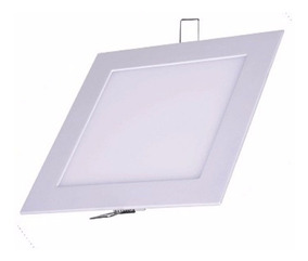 Kit 5 Painel Plafon Led 18w Embutir Luminaria Spot Led