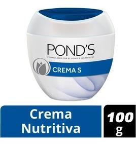 Crema Ponds S Humectante Nutritiva X 100 Gr Original