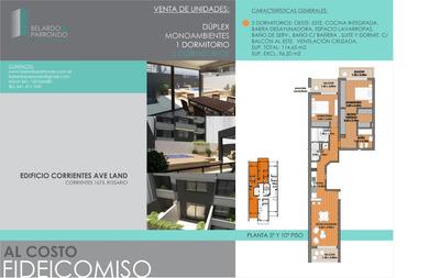 Departamento 2 Dormitorios Avenida Pellegrini Y Corrientes