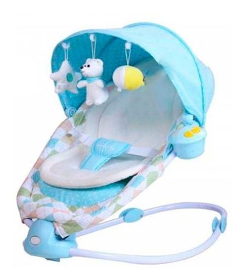 Baby One Silla Mecedora Azul Bome-002